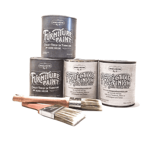 Kitchen Cabinet Chalky Finish Paint Kit - Vintage And Restore By K