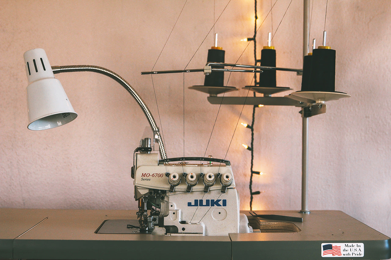 Luckyleo Industrial Juki Serger - Photos From The Shop