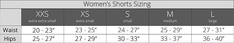 Luckyleo Women's Shorts Sizing