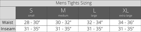 Luckyleo Men's Tights Sizing