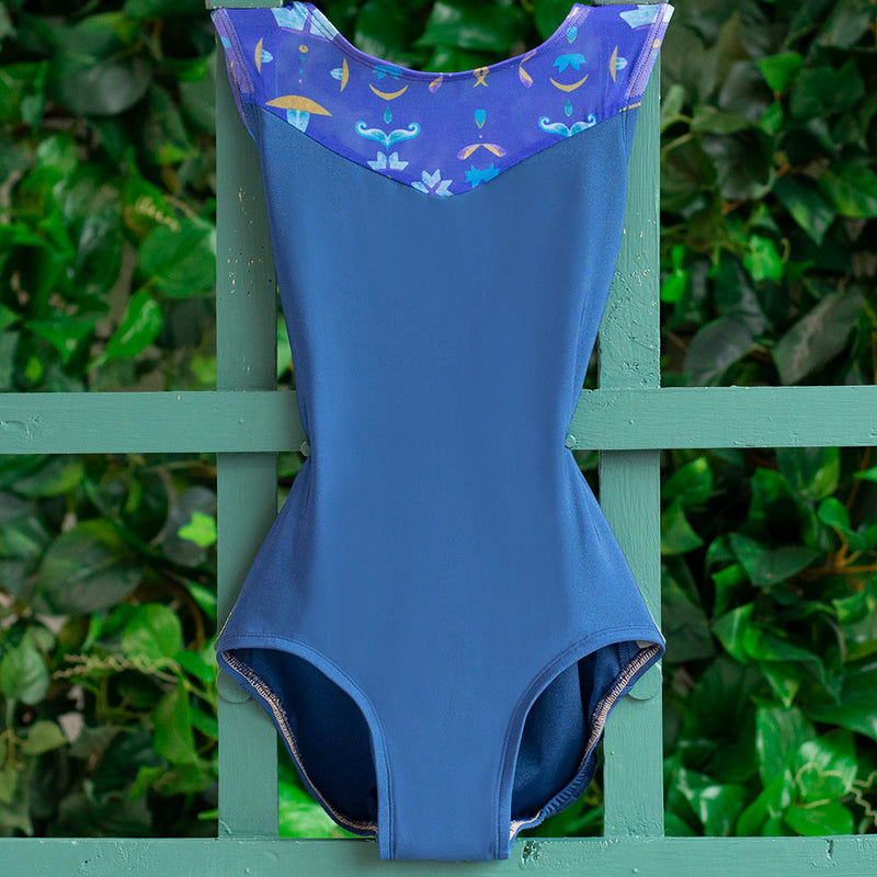 EXTRA SMALL NAVY & ROYAL TAPESTRY MESH BREEZE <br> READY TO SHIP