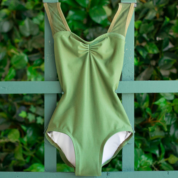EXTRA SMALL OLIVE & OLIVE MESH ANGEL <br> READY TO SHIP