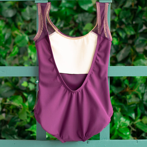 SMALL PLUM & PLUM MESH BLISS <br> READY TO SHIP