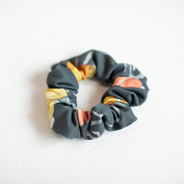 SHADOW PUMPKIN SCRUNCHIE <BR> READY TO SHIP