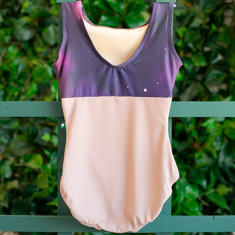 EXTRA SMALL FRONT LINED DUSTY ROSE & STARDUST FLIGHT<br> READY TO SHIP
