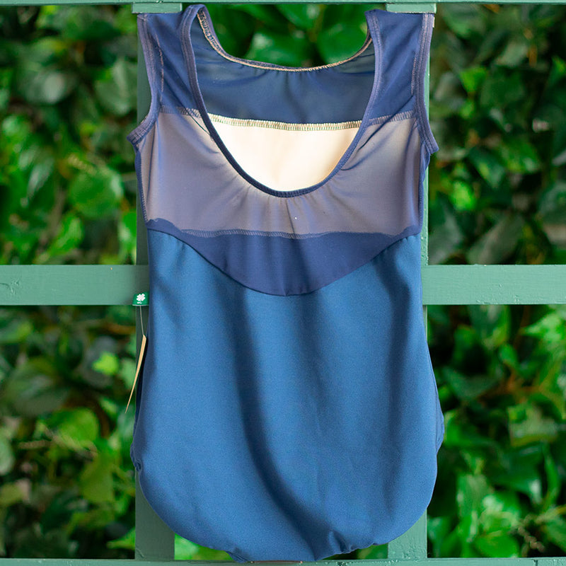 LARGE NAVY & NAVY ELIZABETHAN ROSE SERENITY <br> READY TO SHIP