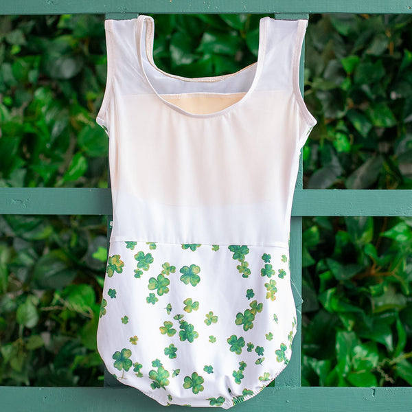 EXTRA EXTRA SMALL LUCKY CLOVER & WHITE MESH TRANSCENDENCE <br> READY TO SHIP