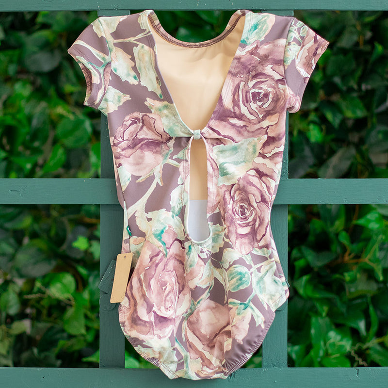 SMALL DUSK ROSE CUFF SLEEVE BEAU <br> READY TO SHIP