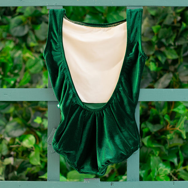 EXTRA EXTRA SMALL EMERALD VELVET ALLURE <br> READY TO SHIP