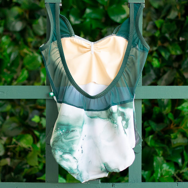 EXTRA EXTRA SMALL EMERALD CLOUD & EMERALD MESH ANGEL <br> READY TO SHIP