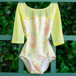 EXTRA SMALL SUNSHINE COTTONTAIL & SUNSHINE MESH 3/4 SLEEVE ACORN<br> READY TO SHIP