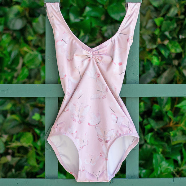 PINK BUTTERFLY MOON LOW BACK