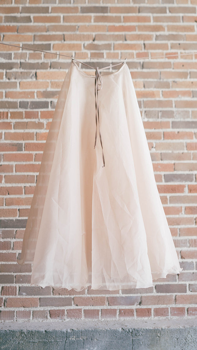 Luckyleo Full Length Silk Organza Ballet Skirt