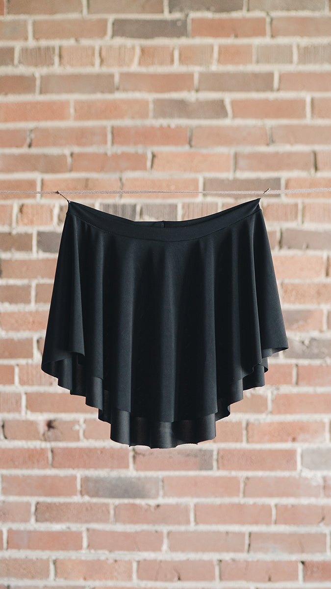 black sab ballet skirt EOS Luckyleo Dancwear