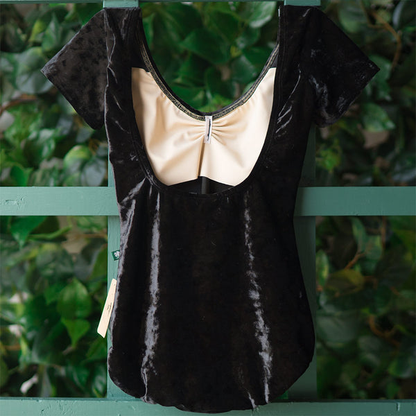 BLACK VELVET CAP SLEEVE MOON <br> BEST SELLER