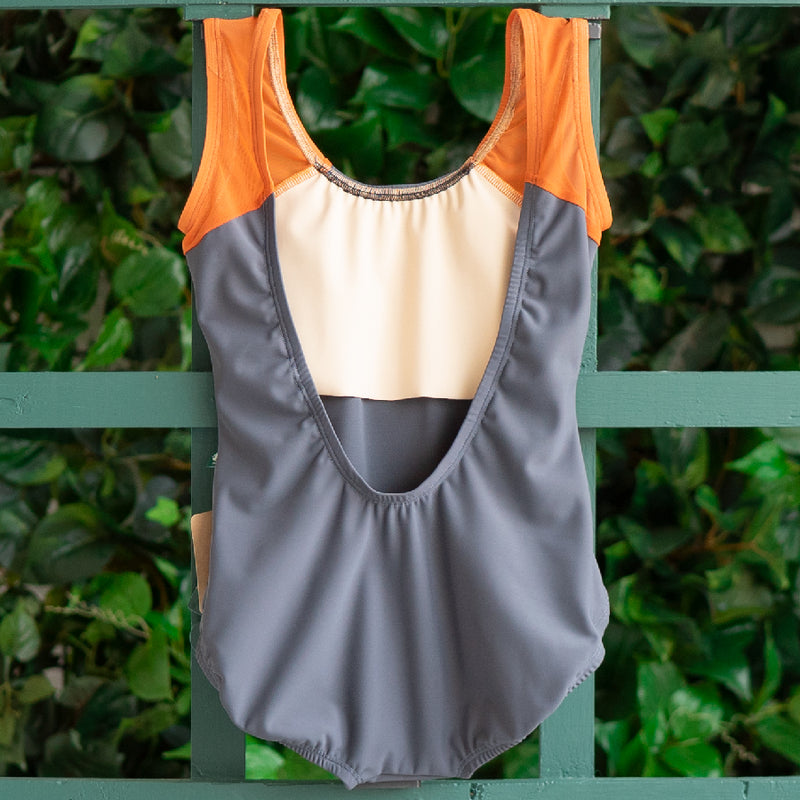SMALL DARK GREY & CLOVE MESH BLISS <br> READY TO SHIP