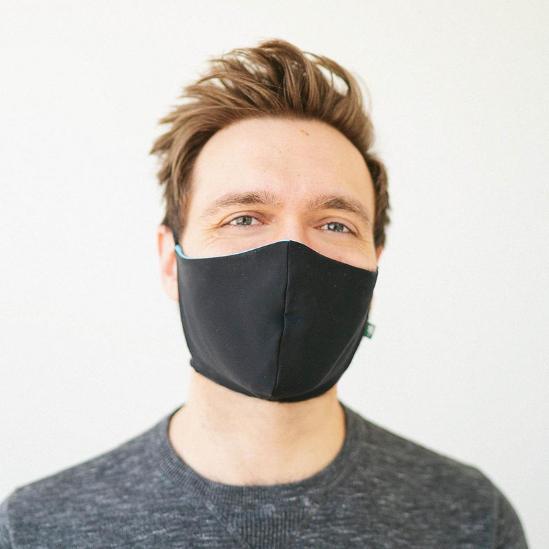 Luckyleo Barrier Mask <BR> Black