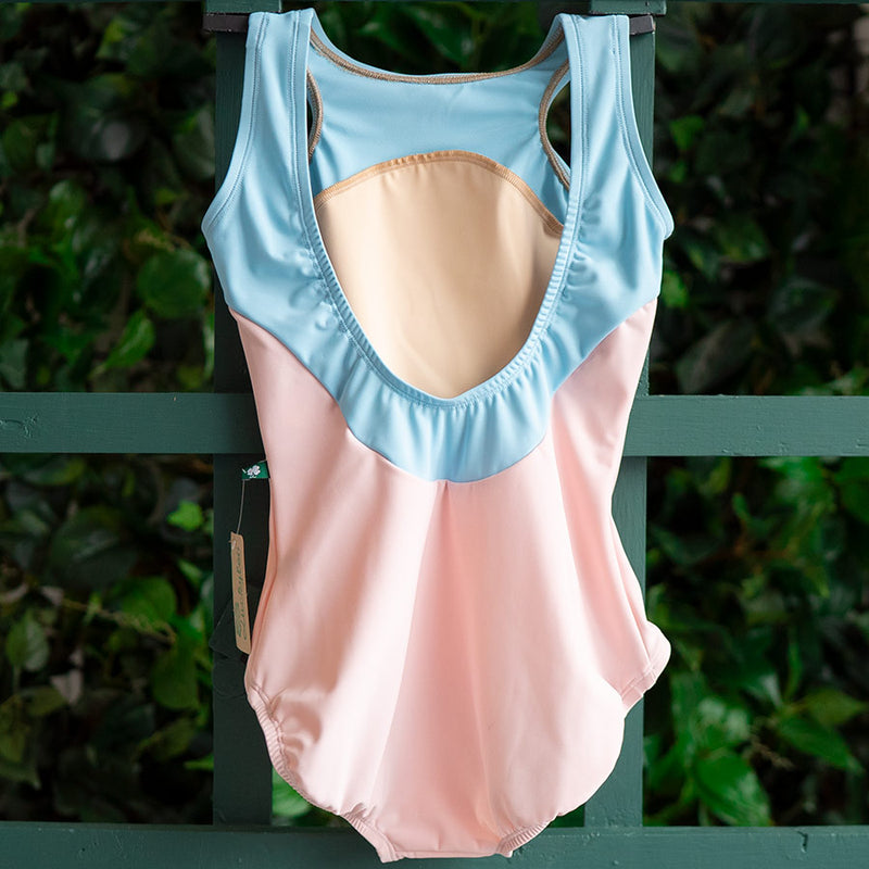 SMALL BALLET PINK & SKY BLUE SPOTLIGHT <br> READY TO SHIP