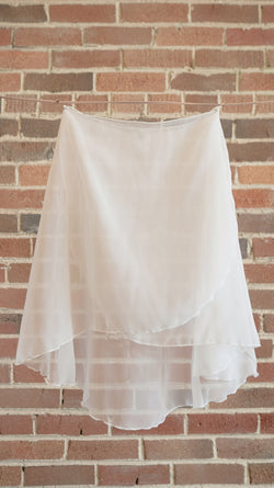 VESTA <BR> WHITE SKIRT