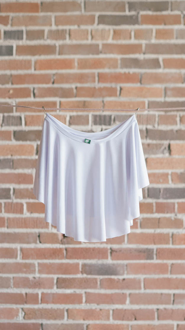 white luckyleo ballet skirt