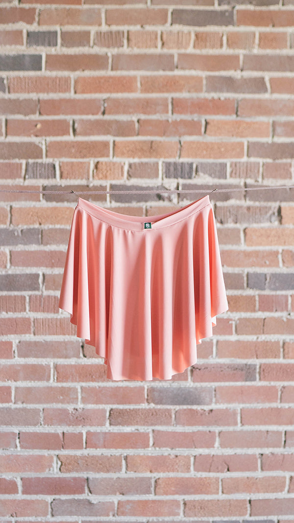 short pink ballet skirt Luckyleo