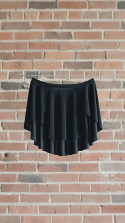 Black Luckyleo DIANA Ballet Skirt