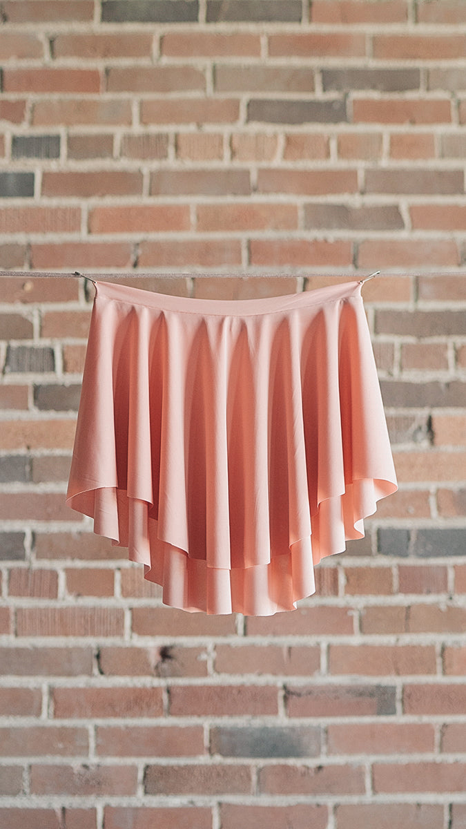 Spanish Pink Ballet Skirt from Luckyleo Dancewear in the EOS style