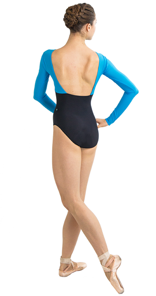 Ballet Leotard in Coin Style Back View