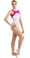 Custom Ballet Leotard in Spotlight Style Front View