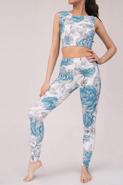 ROYAL ROSE FLIGHT TOP & LEGGINGS <br> FULL SET