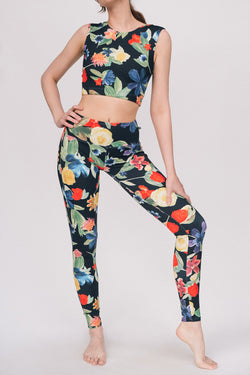 WILDFLOWER FLIGHT TOP & LEGGINGS <br> FULL SET