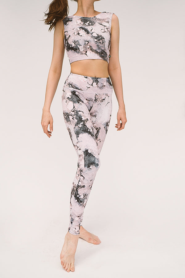 EVENING BLOOM FLIGHT TOP & LEGGINGS <br> FULL SET
