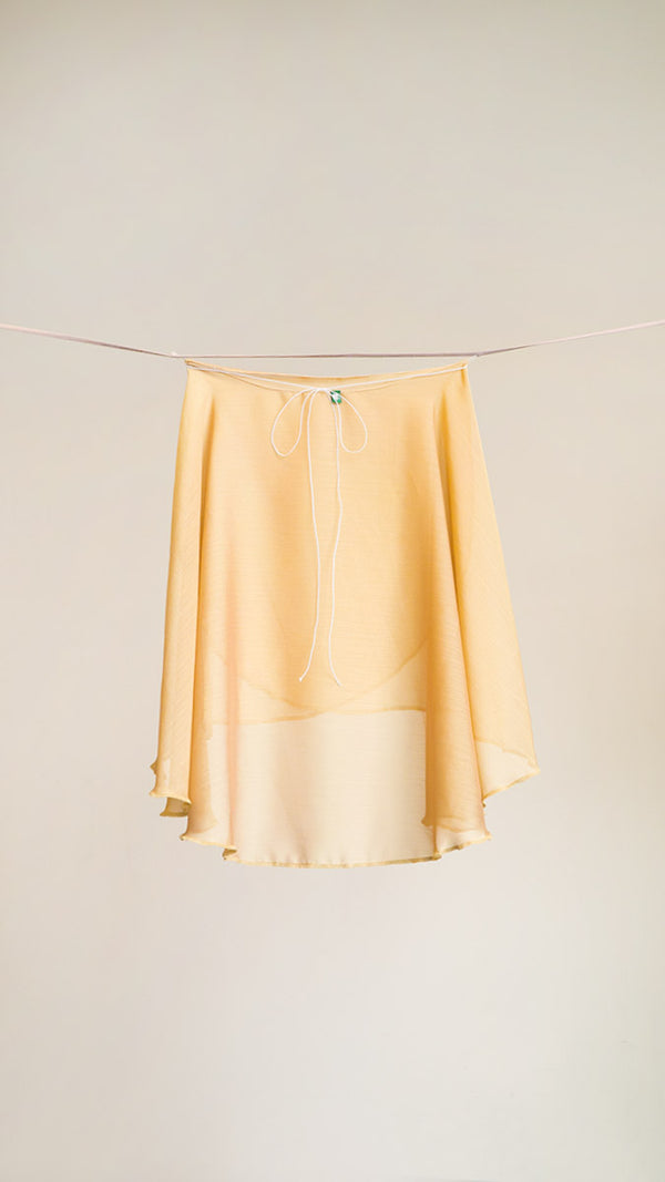 VESTA <BR> GOLD SKIRT
