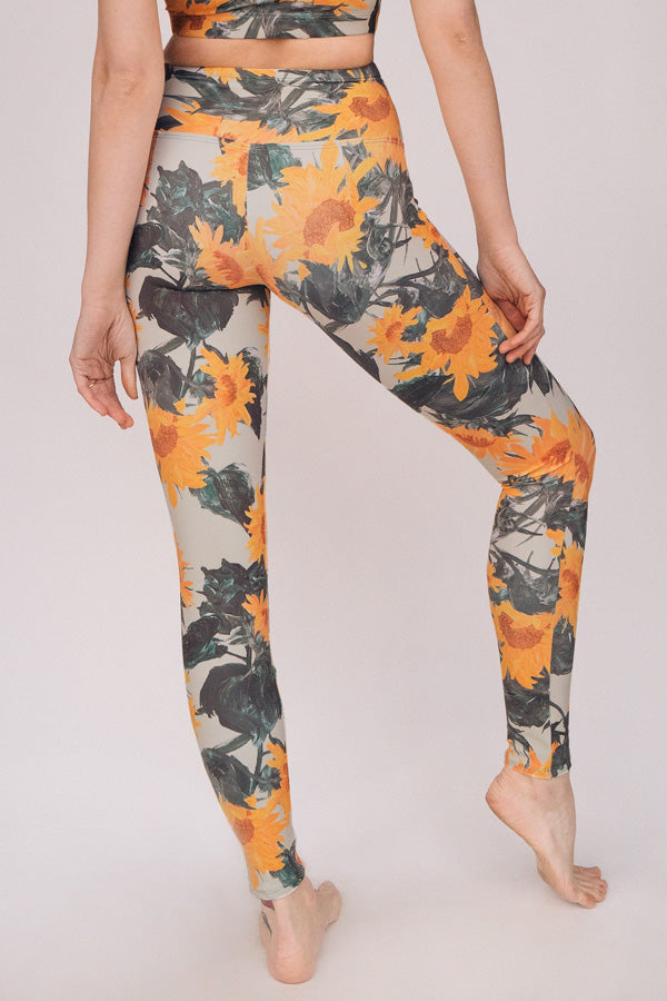 ALOE SUNFLOWER <br> ORIGINAL LEGGINGS