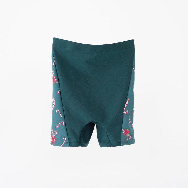 MINI EMERALD CANDY CANE & EMERALD BRAVERY MEN'S TIGHTS <br> NUTCRACKER COLLECTION