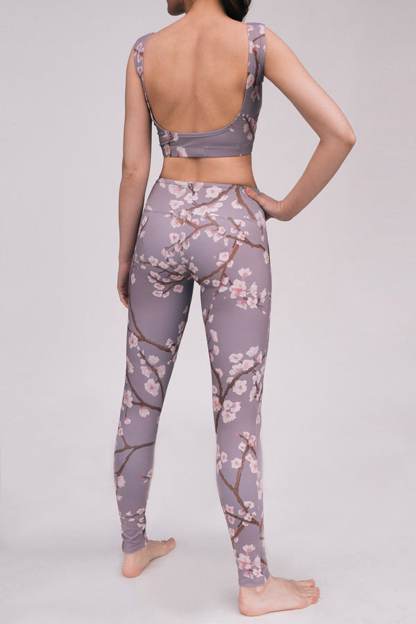 DUSK CHERRY BLOSSOM MOON TOP & LEGGINGS <br> FULL SET