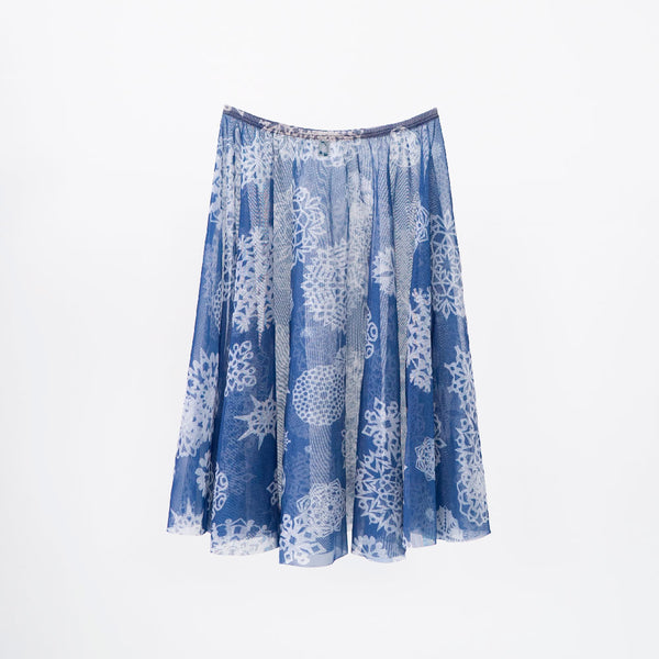 SNOW RHEA <BR> HOLIDAY COLLECTION SKIRT