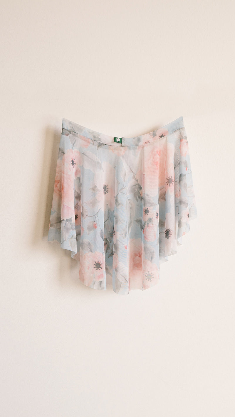 HAND PAINTED EOS WALTZ PRINT SKIRT