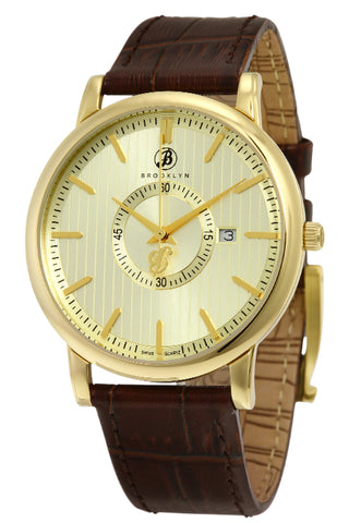 Brooklyn Myrtle II Swiss Quartz Slim Mens Watch BW-100-M2731