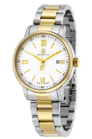Brooklyn Livingston Swiss Quartz Slim Mens Watch BW-101-M71122
