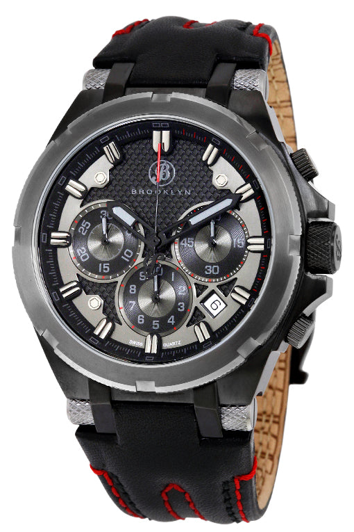 Brooklyn Malcolm Swiss Quartz Chronograph Mens Watch BW-103-M6221