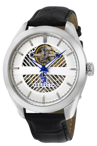 Brooklyn Pierrepont Skeleton Mens Automatic Watch BW-200-M1121