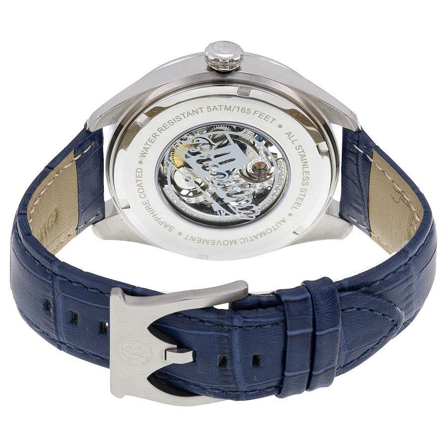 Brooklyn Pierrepont Skeleton Mens Automatic Watch BW-200-M1551