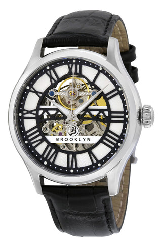 Brooklyn Bridgewater Skeleton Mens Automatic Watch BW-201-M1121