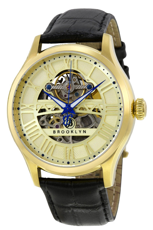 Brooklyn Bridgewater Skeleton Mens Automatic Watch BW-201-M2321
