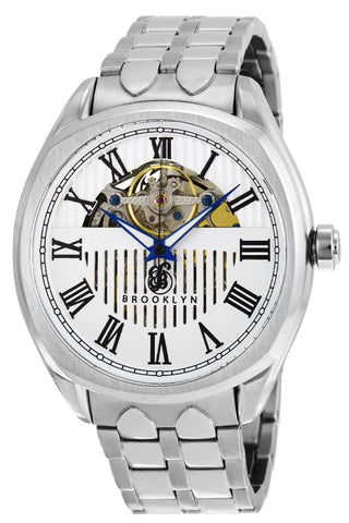 Brooklyn Dunham Skeleton Mens Automatic Watch BW-202-M1112