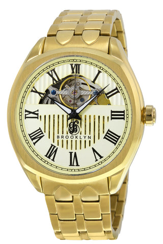 Brooklyn Dunham Skeleton Mens Automatic Watch BW-202-M2372