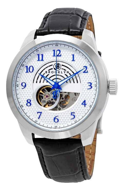 Brooklyn Carlton Skeleton Mens Automatic Watch BW-203-M1121