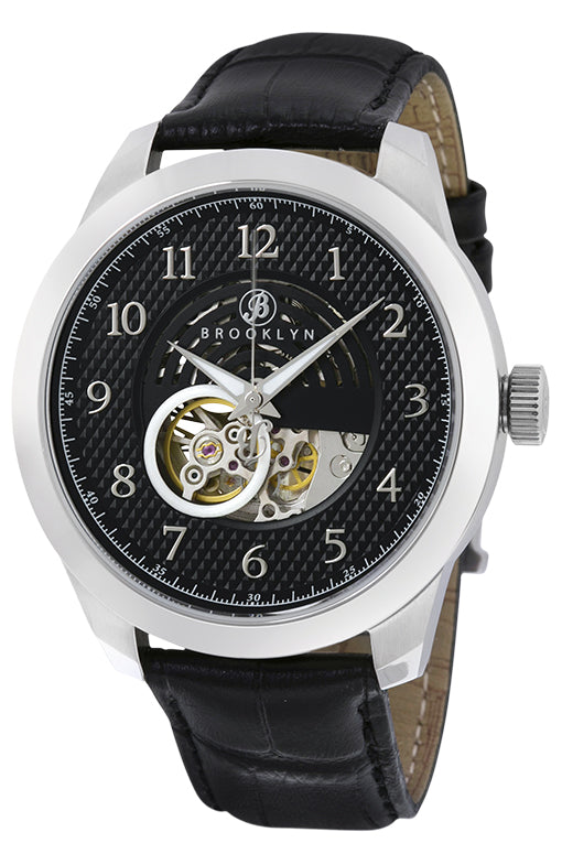 Brooklyn Carlton Skeleton Mens Automatic Watch BW-203-M1221