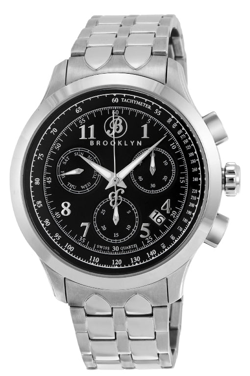 Brooklyn Prince Swiss Quartz Chronograph Mens Watch BW-204-M1212